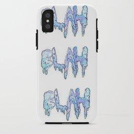 BLAH. iPhone Case