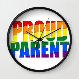 Proud Parent Wall Clock