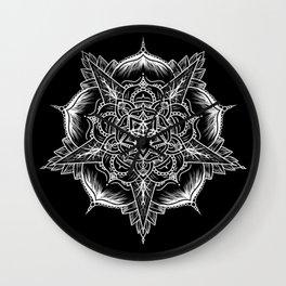 Mandala No. 1 Wall Clock