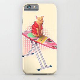 Hoverboard Cat iPhone Case