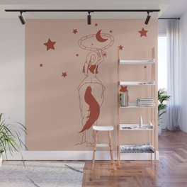 Fanny Ropes the Moon Wall Mural