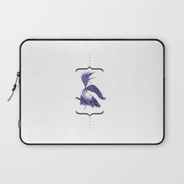 """betto"" to fish Laptop Sleeve"