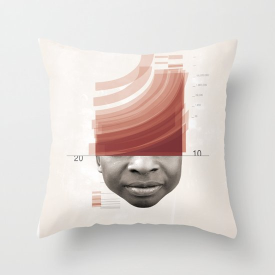 Energy Release Throw Pillow