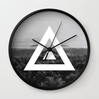 neverland Wall Clocks featuring Neverland by Canoe Point Designs