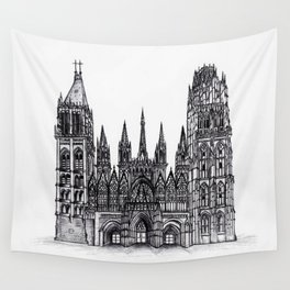 Rouen Cathedral Wall Tapestry