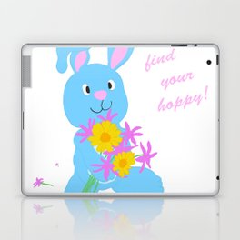 Scout with Flowers: Find Your Hoppy! Laptop & iPad Skin
