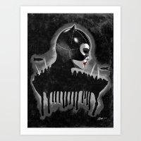 The Cat Art Print