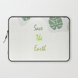 Save The Eart Laptop Sleeve
