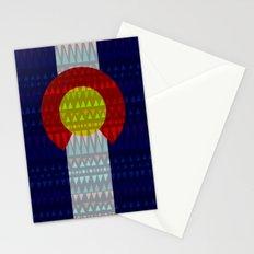 Colorado Flag/Geometric Stationery Cards
