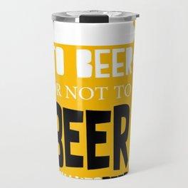 Beer Pun Travel Mug