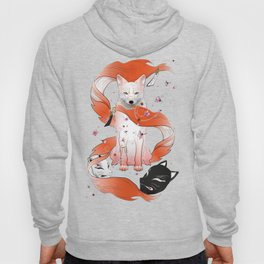 Red Kitsune Hoody