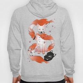 Red Kitsune Hoody