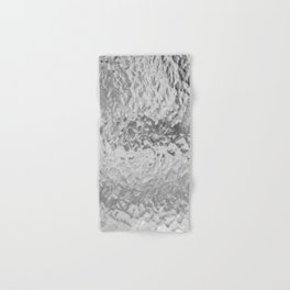 Clear Water (Black and White) Hand & Bath Towel