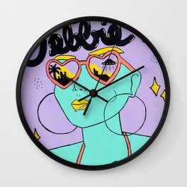 [NOT] FROM AROUND HERE Wall Clock