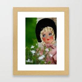 Paris Girl Framed Art Print
