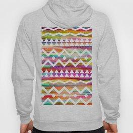 Aztek watercolor pattern Hoody
