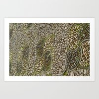 Beautiful Stone Pattern... Art Print
