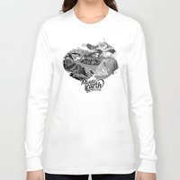 middle earth Long Sleeve T-shirts featuring Middle Earth New Zealand by Guiso