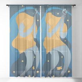 La Llorona Sheer Curtain