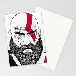 Old Kratos Stationery Cards