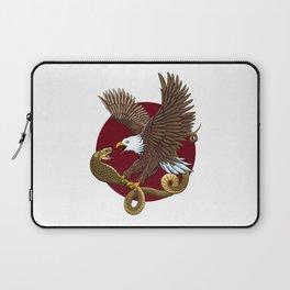 Eagle and Snake Laptop Sleeve
