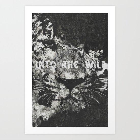 lets run for a-wild. Art Print