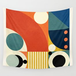 Roud Flow No. 3 Wall Tapestry