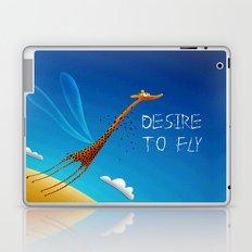 DESIRE TO FLY Laptop & iPad Skin