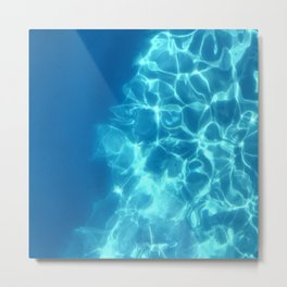 Still Waters and Pool Reflections Metal Print