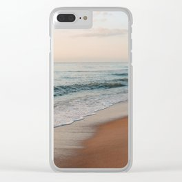 Washed Away Clear iPhone Case
