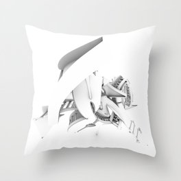 Endogfx Top Throw Pillow
