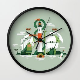 Sea of Adventure Wall Clock