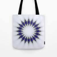 stargate Tote Bags featuring Stargate by Mr. Pattern Man