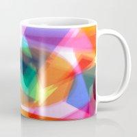 prism Mugs featuring PRISM by Rachel Stewart Design