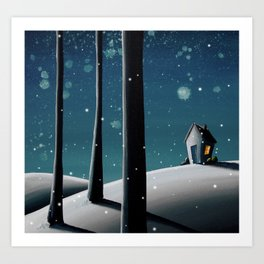 The Frost Art Print