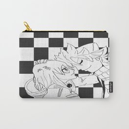 Nalu in Black and White Carry-All Pouch