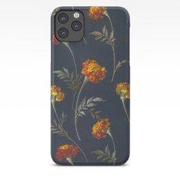 Vintage Marigolds iPhone Case