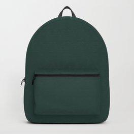 BM Hunter Green 2041-10 - Trending Color 2019 - Solid Color Backpack