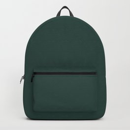 BM Hunter Green 2041-10 - Trending Color 2019 - Solid Color Backpack
