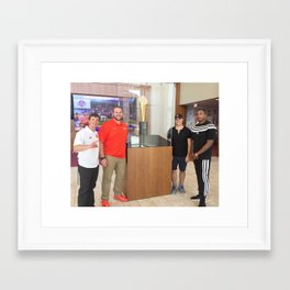 cl Framed Art Print