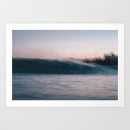 Blur2. Art Print