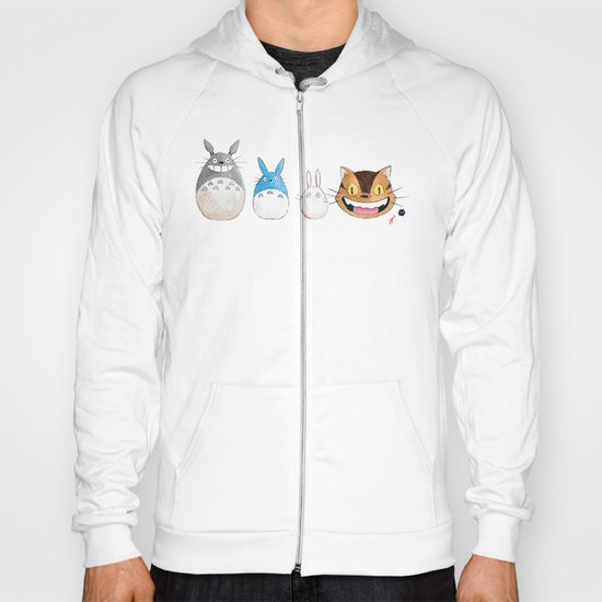 Make the Unlikeliest of Friends, Wherever You Go Hoody