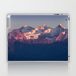 Three Peaks in Violet Sunset Laptop & iPad Skin