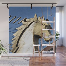 Horse of Another Color Wall Mural