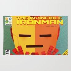 ironman fan art Rug