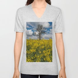 Sea of Yellow Unisex V-Neck