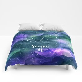 Scorpius Constellation Comforters