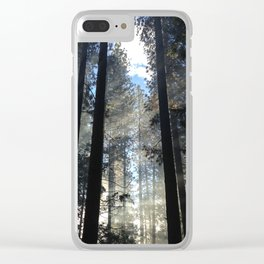 Sunlight Shines Through the Trees Clear iPhone Case