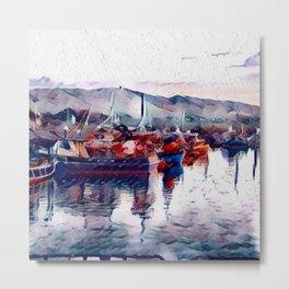 Irish Sea Metal Print