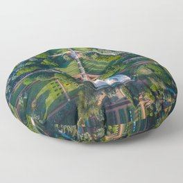 Bahai Floor Pillow